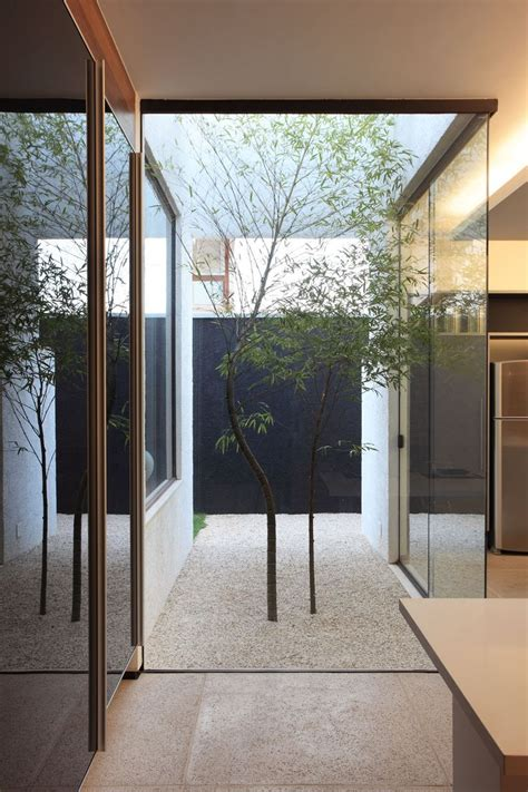 Small Courtyard Homes 16 Minimal Courtyards With Just A Hint Of Nature