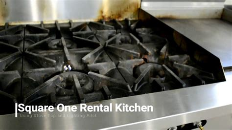Square One Sunfire Stove Top And Pilot Light Youtube