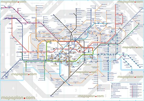 underground station map map underground stations map with