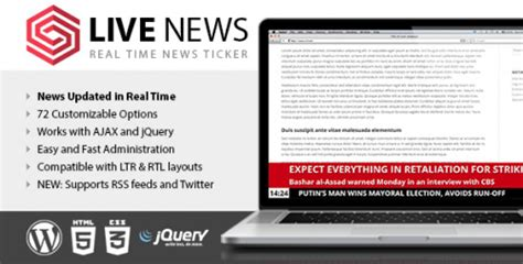 nulled live news real time news ticker v2 05 null club