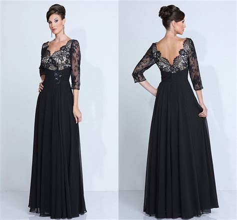 The Evening Black Dress 1 sale chiffon of the dresses black plus size evening dress magic prom dresses