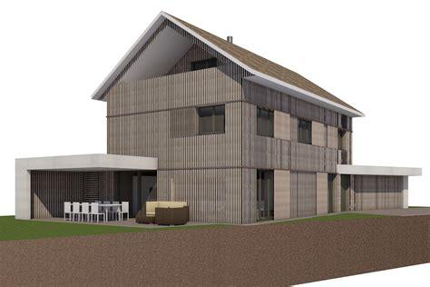 Einfamilienhaus Architektur by Efh Zielschlacht Architekt Skizzenrolle