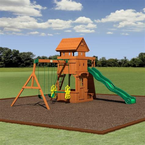 monterey swing monterey wooden swing set playsets backyard discovery