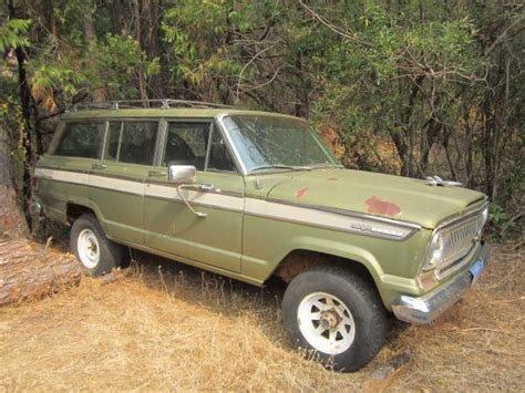 1970 jeep wagoneer interior 1970 jeep grand wagoneer 350 v8 for sale in gold country