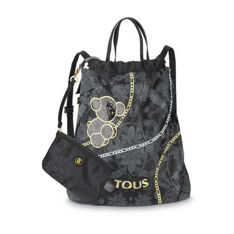 Kaos Fashion Michael Kors polyester fabric tous jodie collection handbag 21cm x 17