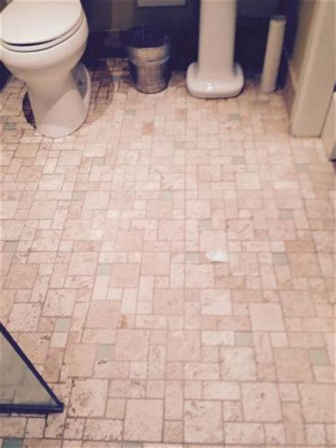 Bathroom Flooded Into Carpet Water From Shower Ran Into Hallway Which Became
