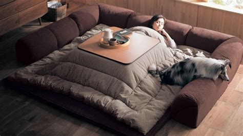 kotatsu bed the japanese innovation that lets you stay in bed all day