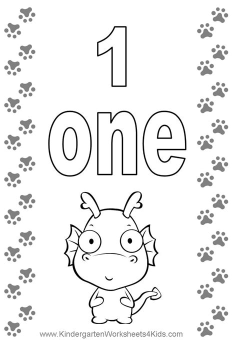 free coloring pages of numbers 1 to 10