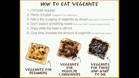 how not to your how to eat vegemite