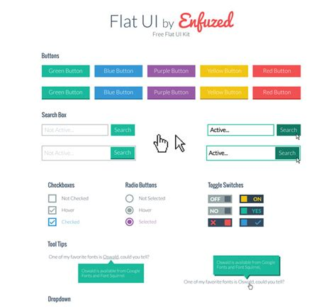 flat ui design templates 80 free flat ui kits psd for mobile apps websites