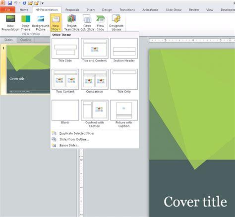 custom layout ppt vba powerpoint customui built in button slidenewgallery