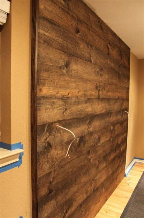19 best images about wood accent walls on pinterest accent wall for mounted tv so cool this would look