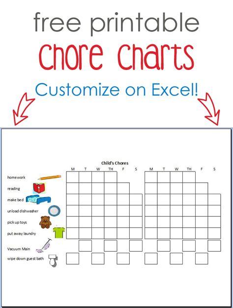 create free charts free printable calendar make your own custom printable
