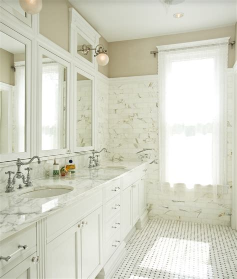 marble basketweave tile traditional bathroom calcutta bathrooms surfaces usa