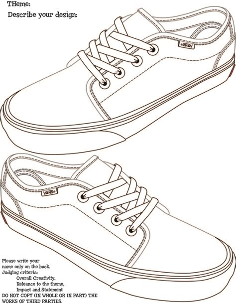 design a shoe template vans shoe comp mr kimble s site