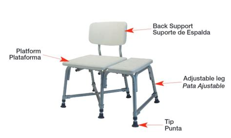 600 lb bench lumex bariatric bath bench with 600 lb weight capacity