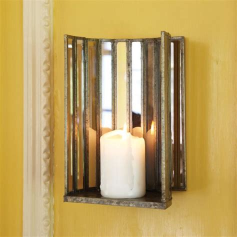Glass Wall Sconce Candle Holder Tozai Home Dr0503 Two Way Mirror Glass Wall Sconce Pillar Candle Holder Toz Dr0503