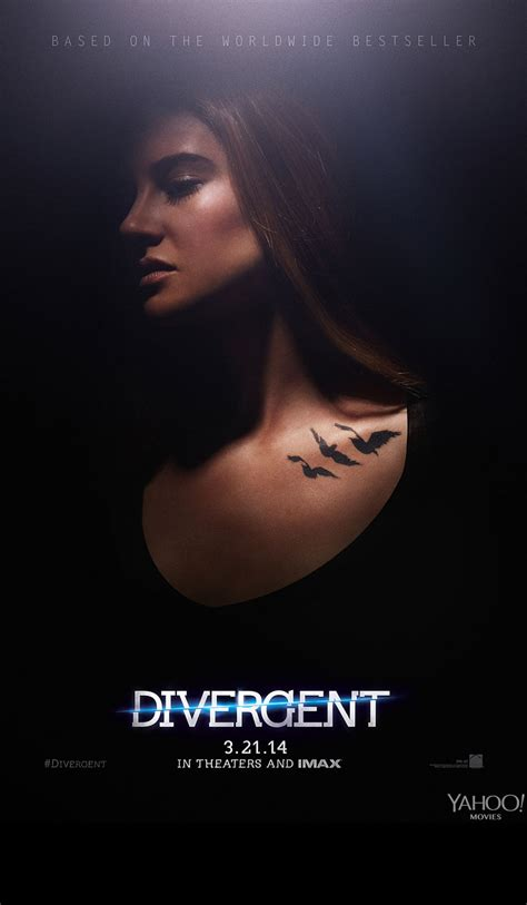 film online divergent first official divergent movie posters released