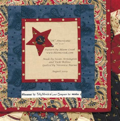 Quilt Label Wording by Quotes For Quilt Labels Quotesgram