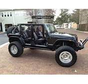 2012 Jeep Wrangler Unlimited 4  Door 3 6l 6 Speed Lifted And Locked