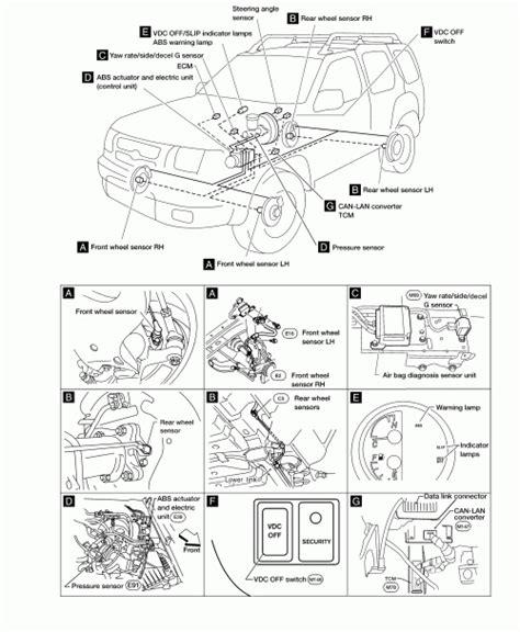 repair anti lock braking 2003 nissan sentra free book repair manuals 2003 nissan xterra engine diagram automotive parts diagram images