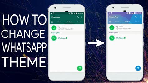 whatsapp themes and fonts how to change whatsapp theme on android latest
