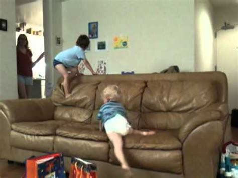 jumping on the couch kids jumping on couch youtube