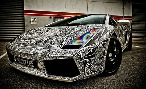 sharpie lamborghini artist how to look sharp with a sharpied car solidsmack