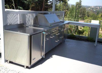 outdoor kitchen stainless doors and drawers stainless steel outdoor kitchens steelkitchen