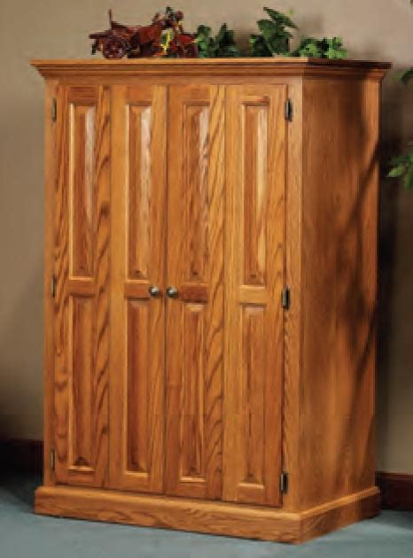 oak computer armoire heirwood computer armoire in solid hardwood ohio hardwood furniture
