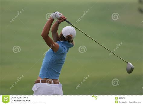 lady golf swing lady golf swing royalty free stock images image 2206879