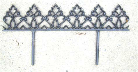 decorative fence edging flower beds wrought iron fence installation fences ornamental dixie