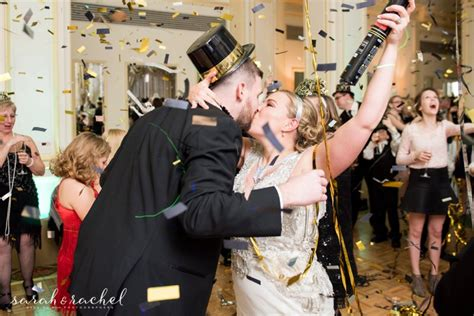 indianapolis new years new years gatsby themed wedding omni severin hotel