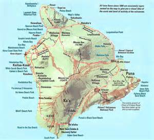 map big large detailed map of big island of hawaii with roads and