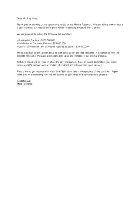 Response Letter For Opportunity Sle Letters