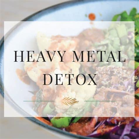 Metal Detox by How To Start A Heavy Metal Detox The Healthy Apple