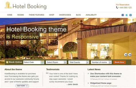 theme hotel walkthrough 40 best hotel wordpress themes 2018 athemes