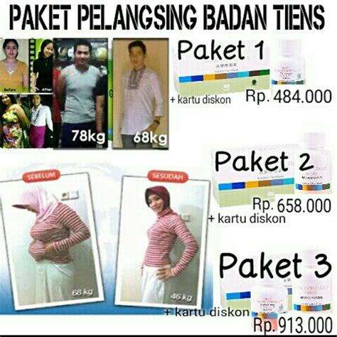 Pelangsing Produk Tiens jual paket pelangsing tiens toko tiens shop bali