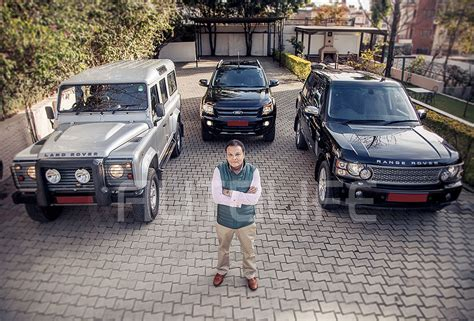 nepal new land rover my autolife with ashoke sjb rana autolife nepal