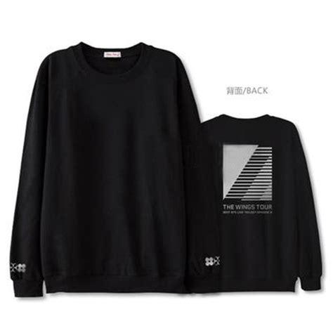 Bts Wings Sweater kpop bts wings sweater merchandise sweat shirt shirt new