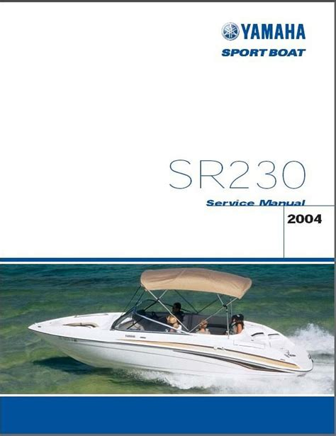 jet boat service yamaha sr230 jet boat sport boat service manual cd