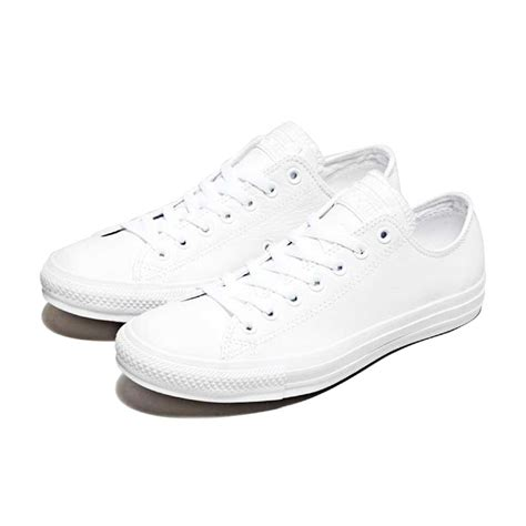 Converse All Low White converse all monochrome canvas low white all34w studio 88