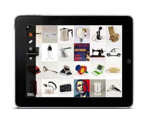 Design Museum App | the design museum ipad app feel desain