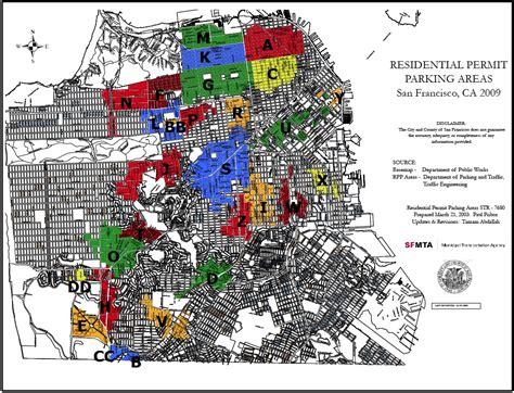 san francisco map parking parking san francisco map