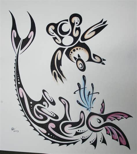 vaporeon tattoo the gallery for gt tribal vaporeon