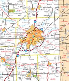 map of allen allen county images