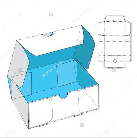 shoe box templates  psd ai eps format