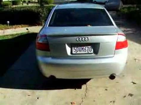 audi b6 2003 a4 with custom magnaflow exhaust