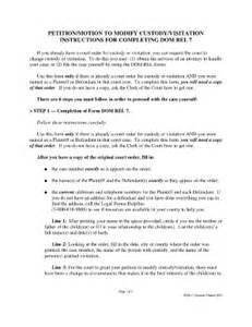 Child Custody Sle Letter by 57 Best Family Divorce Coparenting Images On Custody Agreement Template