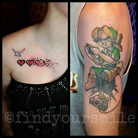 zelda couple tattoos the tattoos hey hey listen listen
